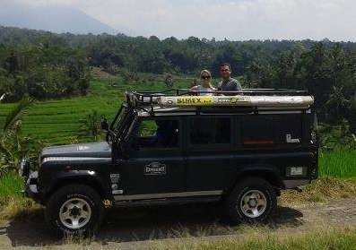 Bali Car Rental Jeep